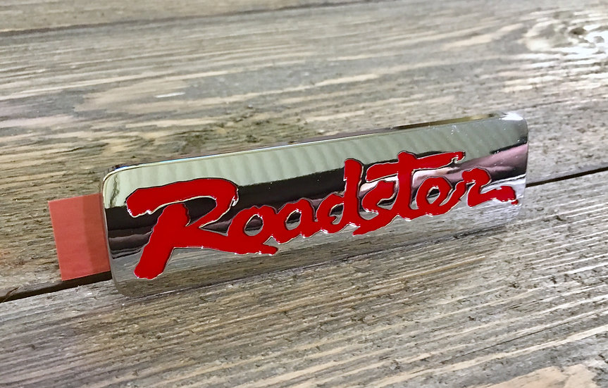 New Roadster Emblem Red