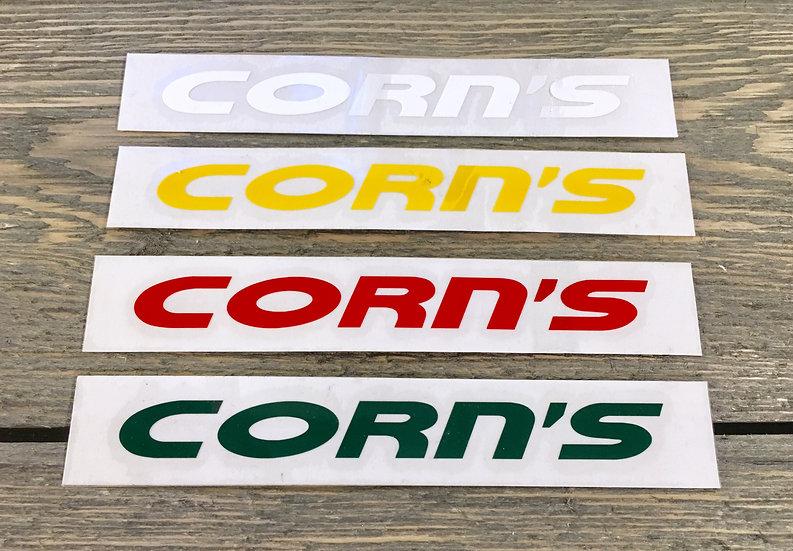 Corn's Original Shop Decal
