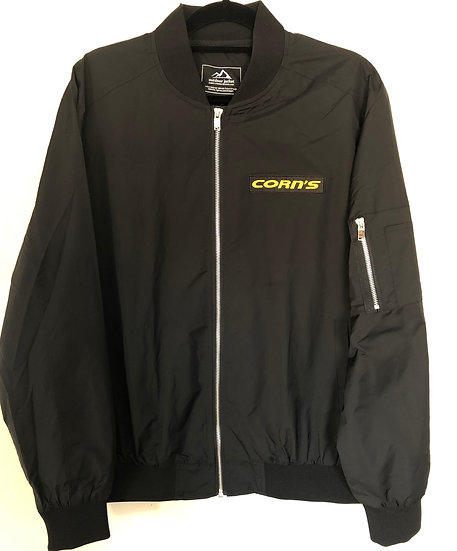 Light Weight Corn's Bomber Jacket with Side Zipper