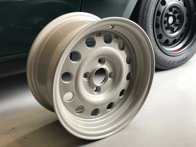 "Car Make Corn's Original CMC-03 14"" Wheels"