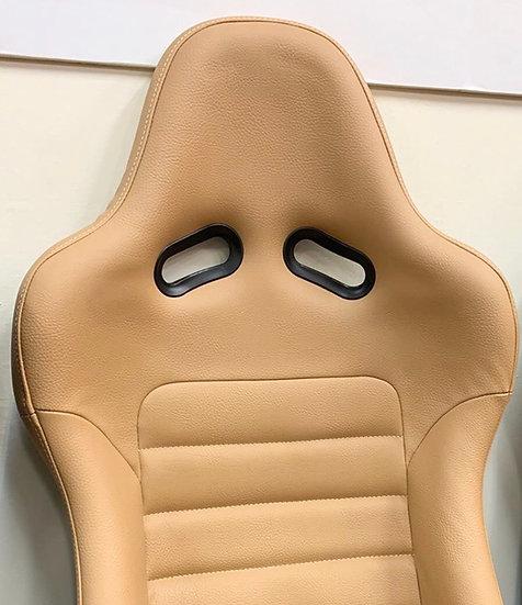 Corn's Original Tan Leather Seat Bar Type