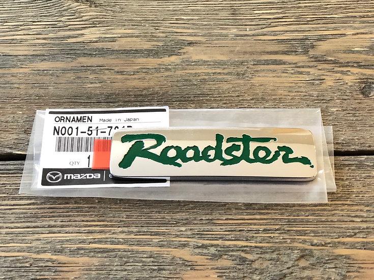 New Roadster Emblem Green