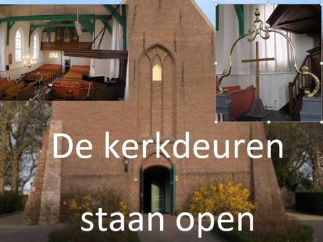 Openstelling kerkgebouw