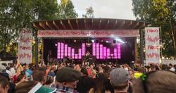 Gurus´s festival stage