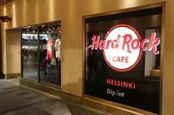 DiLED led-screen Hard Rock Cafe Helsinki