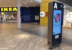 Kauppakeskus Matkuksen uudet infokioskit