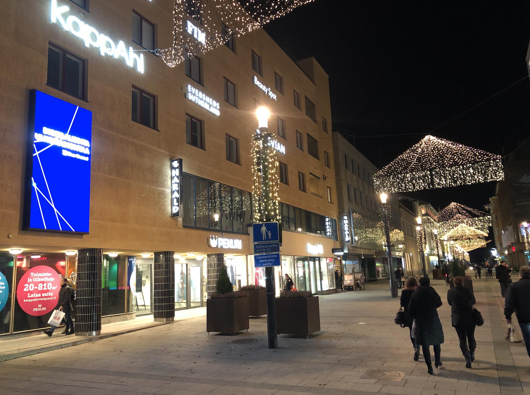 Dig-it asensi P4 led-ulkonäytön Oulun Ra