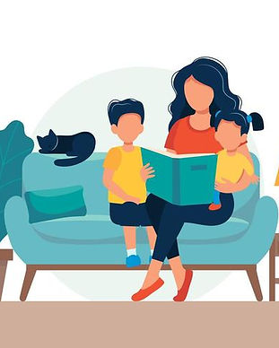 mom-reading-for-kids-family-sitting-on-t