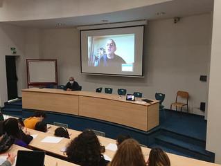 Visio Conférence avec Mr Olivier Jaoui expert de la prise de parole en public
