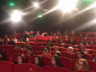 """Ce matin nos élèves ont assisté à la projection d' """"Hors Normes"""" qui traite du problème de"""