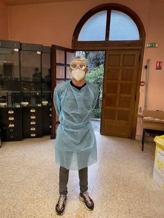 Tests PCR pour les enfants et le personnel volontaires, désinfection quotidienne des lieux ...