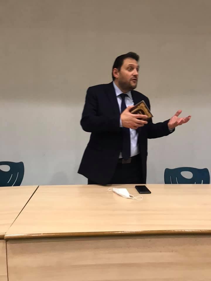 Intervention  du Rabbin Mikael Journo Aumonier General des Hôpitaux en France