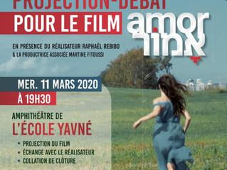 Projection-débat pour le film amor