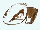 alain montagne peint, passion dessin peinture