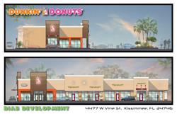 Dunkin' Donuts Render