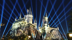 Harry Potter Light Show