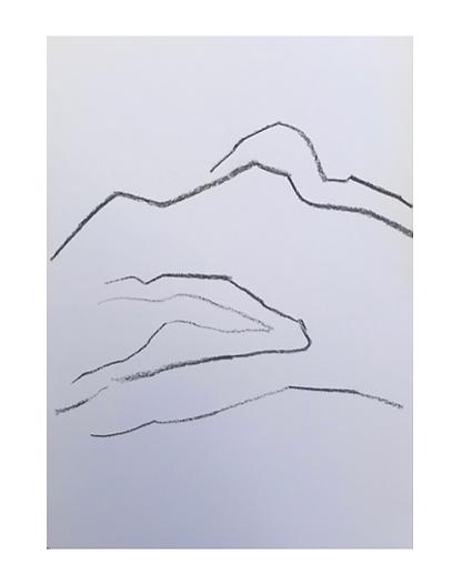 Line landscape III