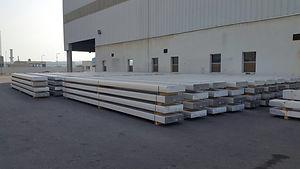 Aluminium Long busbars ALBA line 6