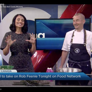 Iron Chef Canada Competitor Ned Bell Cooks Mussels