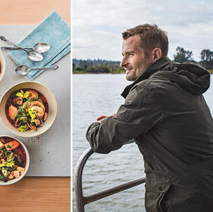 Sustainable seafood champion Ned Bell inspires cooks to 'dive deeper' with creative recipes