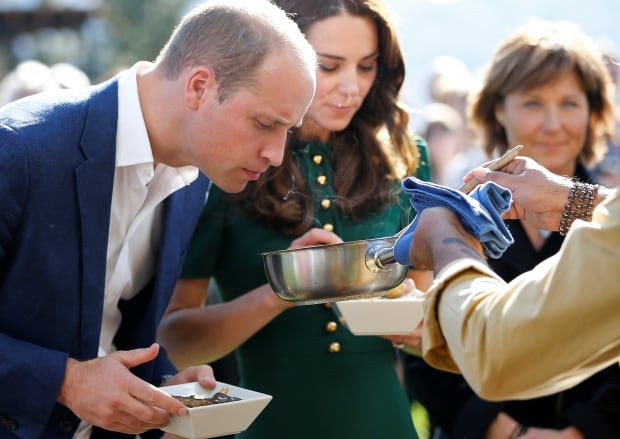 How the royal visit might boost West Coast's phallic clam