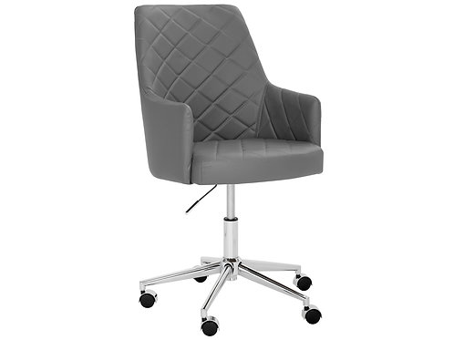 Chaise Office Chair - Grey
