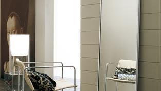 Grey Standing Mirror