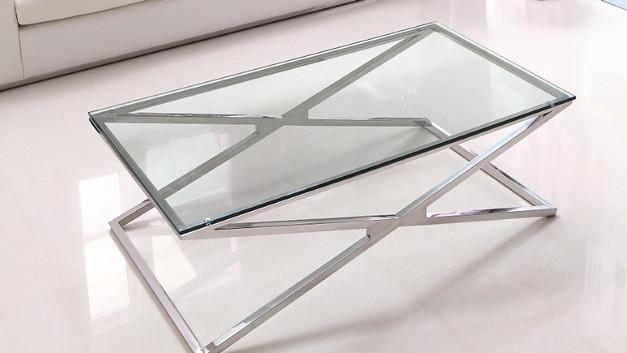 Piato Cocktail Table - Chrome - CJ1025