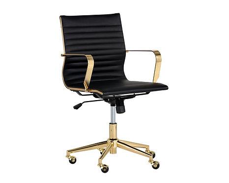 Jessica Office Chair - Black