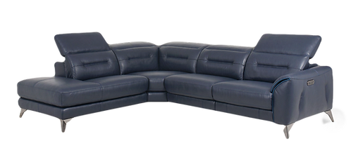 Torino Leather Sectional/Recliner