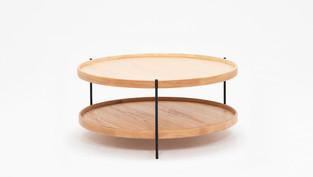 Sage Circular Coffee Table - Oak