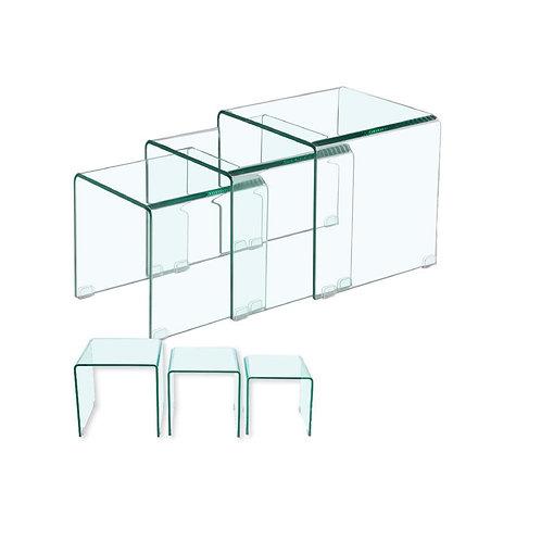 Glass Nesting Table