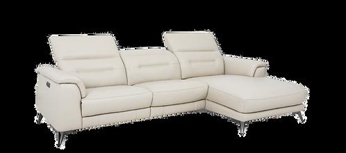 Venice-Glo Leather Sofa/Chaise