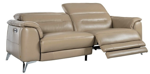 Venice-Glo Leather Recliner Sofa