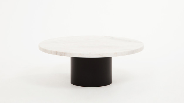 Ynes Coffee Table - White Marble