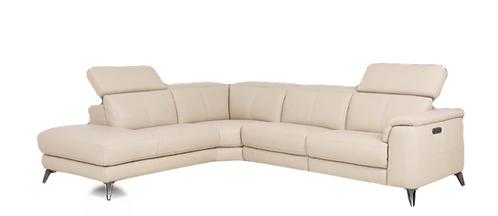 Villagio Leather Sectional/Recliner