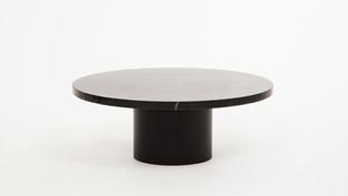Ynes Coffee Table - Black Marble