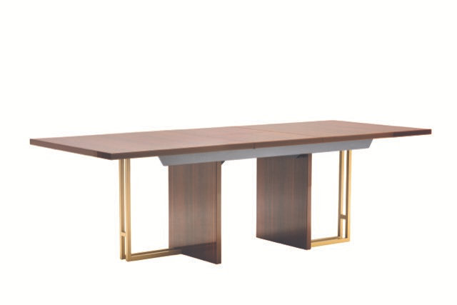 Mid-Century Extension Dining Table - Large