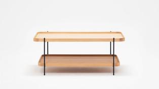 Sage Rectangular Coffee Table - Oak