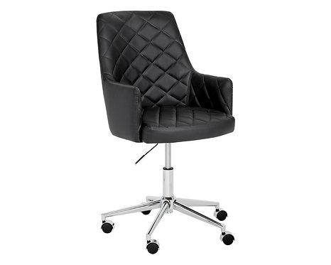 Chaise Office Chair - Black