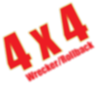 4x4 Wrecker/Rollback Service