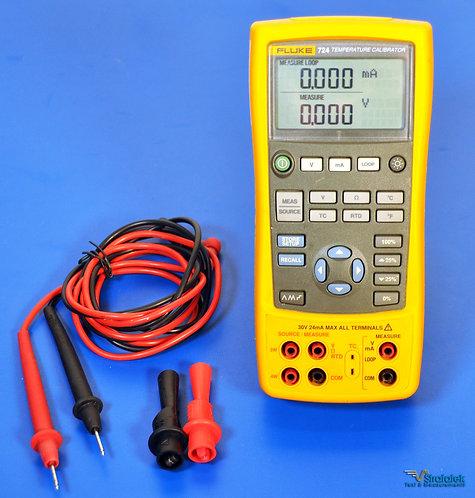 Fluke 724 Temperature Calibrator - NIST Calibrated with Warranty