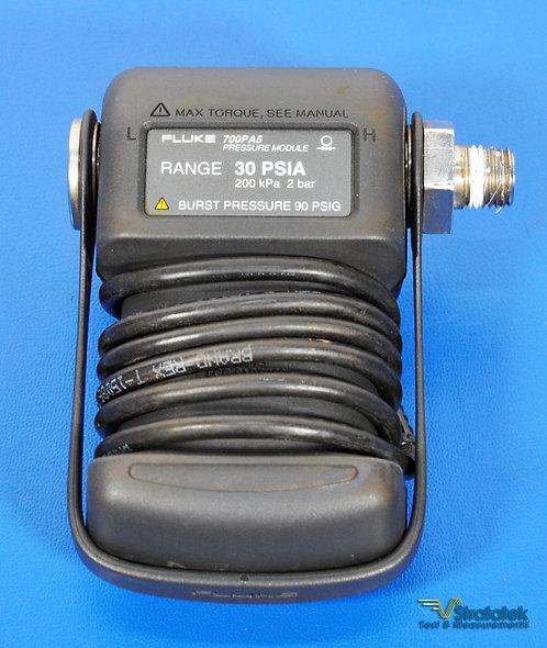 Fluke 700PA5 Absolute Pressure Module 30PSI Range 200kPa 2 bar 30 PSIA