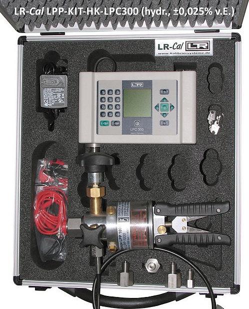 LR-Cal LPP HK-LPC300 Hydraulic Pressure Calibration Kit 0.025% Accuracy