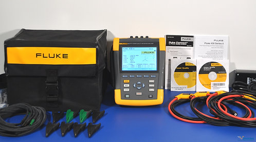 Fluke 438 Series II Power Quality and Motor Analyzer - NIST Calibrated