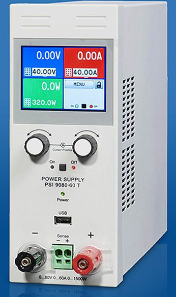 Elektro-Automatik EA-PSI 9080-40 T - Programmable DC Power Supply, 1000W/80V/40A