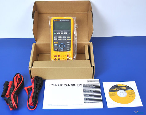 New Fluke 726 Precision Multifunction Process Calibrator - NIST Calibrated