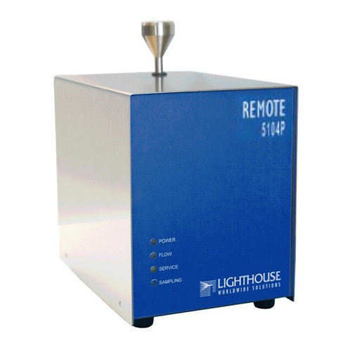 Lighthouse Remote 5104P Airborne Particle Counter with Pump