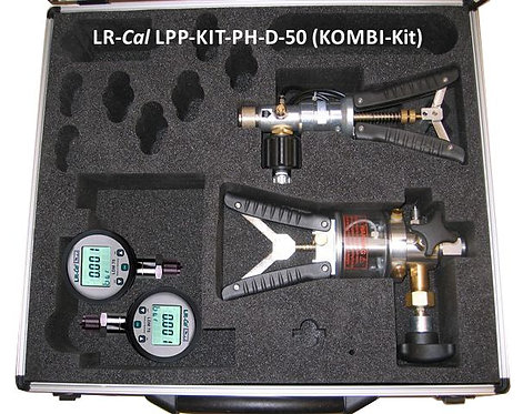 LR-Cal LPP Kit PH-D-50 Pneumatic and Hydraulic Pressure Calibration Kit
