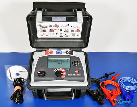 Megger MIT515 5kV Insulation Resistance Tester NIST Calibrated with Data